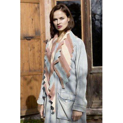 Lang Yarns Leaflet sjaal en snood - Sol Degrade