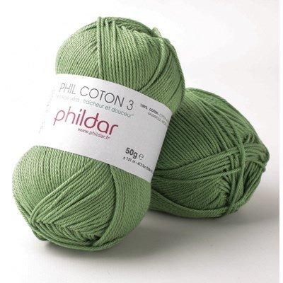 Phildar Phil coton 3 Roseau 0053