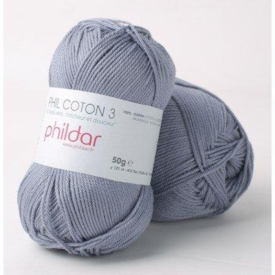 Phildar Phil coton 3 Jeans 2089 op=op uit collectie