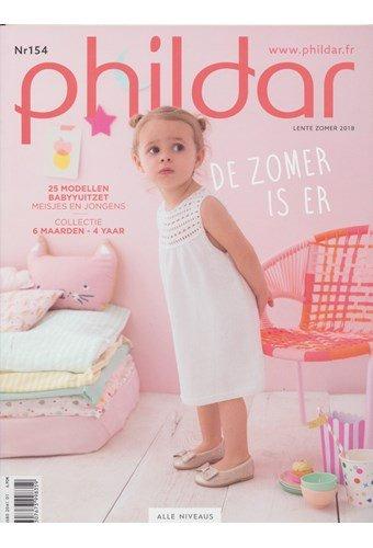 Phildar nr 154 lente zomer 2018 - 25 modellen voor baby en peuter