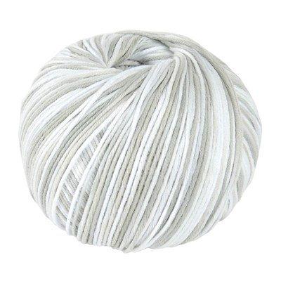 DMC Natura Just Cotton 302S-N412 licht grijs gemeleerd