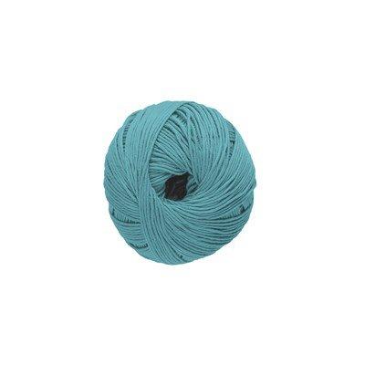 DMC Natura Just Cotton 302S-N49 oud aqua blauw