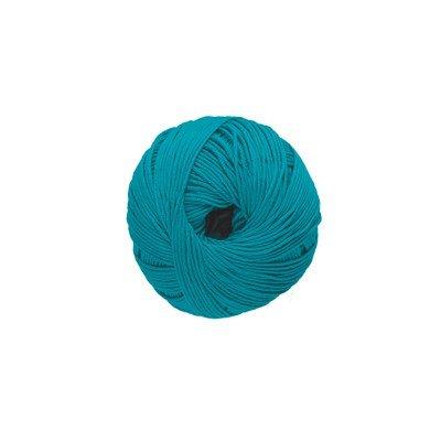 DMC Natura Just Cotton 302S-N64 aqua blauw