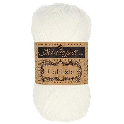 Scheepjes Cahlista 106 snow white