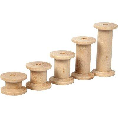 Klos hout 15, 20, 27, 38 en 50 mm 10 stuks