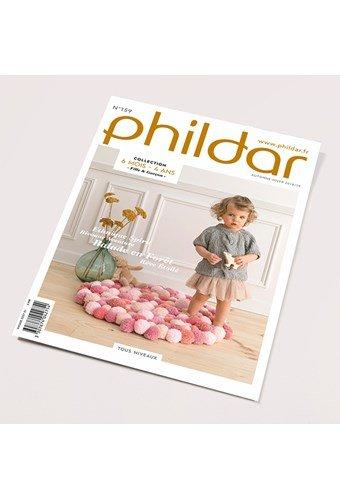 Phildar nr 159 - herfst winter 2018 collectie 6 maanden t/m 4 jaar