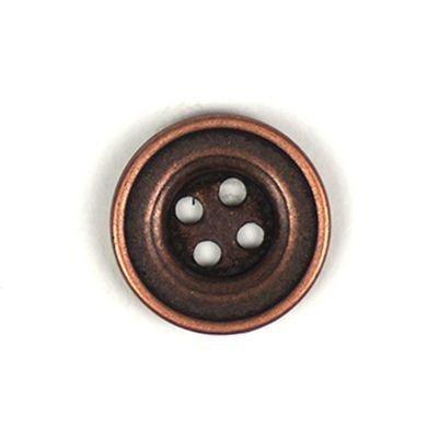 Knoop 20 mm brons