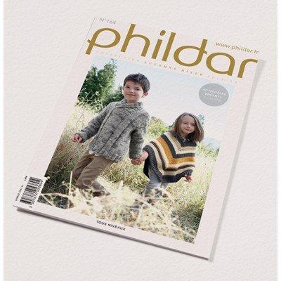 Phildar nr 164- herfst winter 2018 40 kindermodellen 4 - 16 jaar