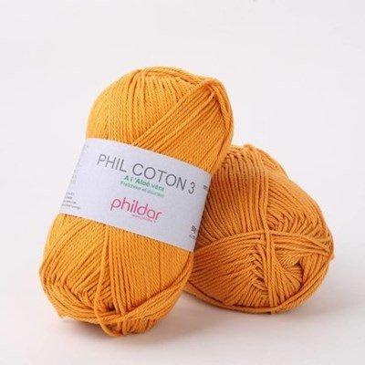 Phildar Phil coton 3 Safran 2188