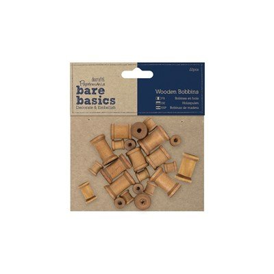 Klos hout 12, 20, 30 mm 22 stuks