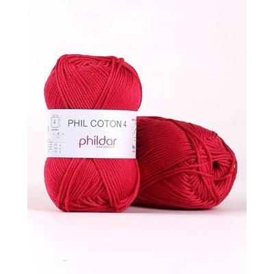 Phildar Phil Coton 4 Framboise 2144