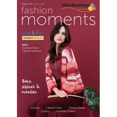 Schachenmayr Fashion Moments mag. 38 Summer edition