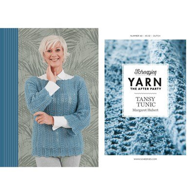 Scheepjes Yarn after party no. 40 Tansy Tunic