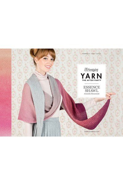 Scheepjes Yarn after party no. 13 essence shawl