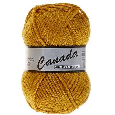 Lammy Yarns Canada 350 oker geel
