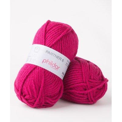 Phildar Partner 6 Framboise 2275