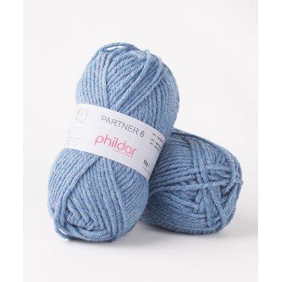 Phildar Partner 6 Jeans Chine 2297