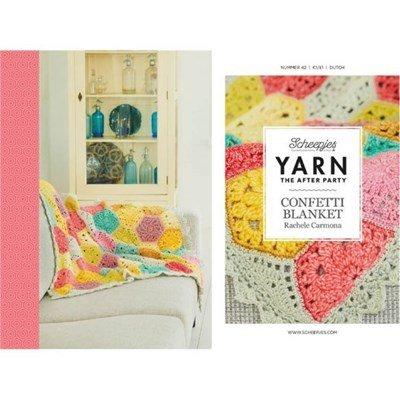 Scheepjes Yarn after party no. 42 Confetti blanket