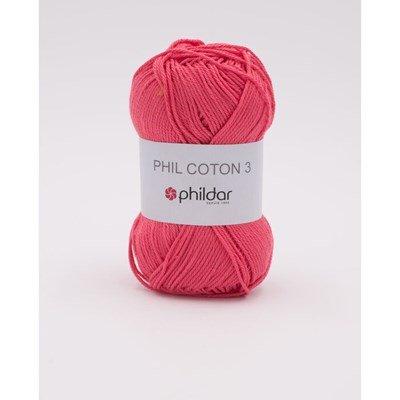 Phildar Phil coton 3 Pink NIEUW