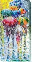 cheerful umbrellas