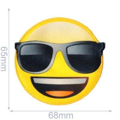 Applicatie Emoji zonnebril 65 mm