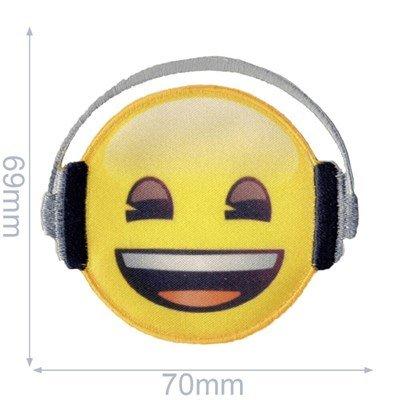 Applicatie Emoji koptelefoon 65 mm