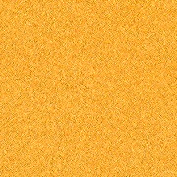 Vilt 100% wol - 3 mm geel 836 breedte 50 cm per 24 cm