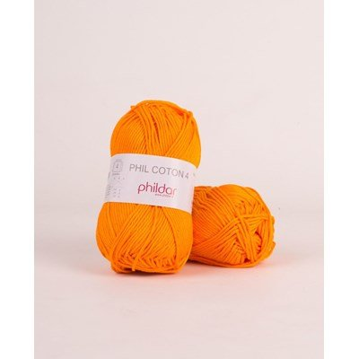 Phildar Phil Coton 4 Mandarine 2740
