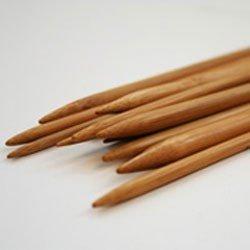 Breinaalden bamboe 15 cm zonder knop nr 2