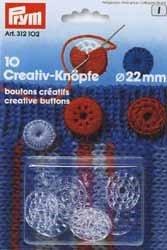Knoop 22 mm creatief