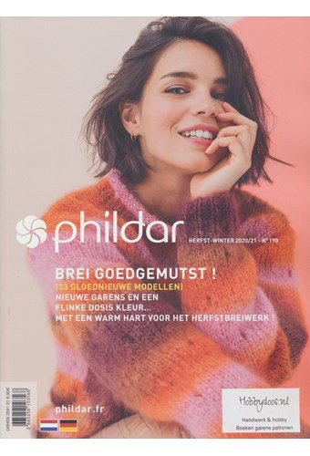 Phildar nr 190 Herfst winter 2020 - 2021
