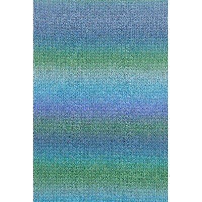 Lang Yarns Malou Light color 1063.0034 groen lavendel blauw