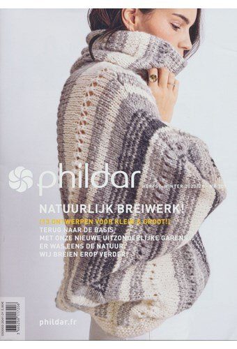 Phildar nr 709 herfst winter 2020-2021 natuurlijk breiwerk