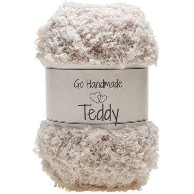 Go handmade Teddy 17316 Beige op=op