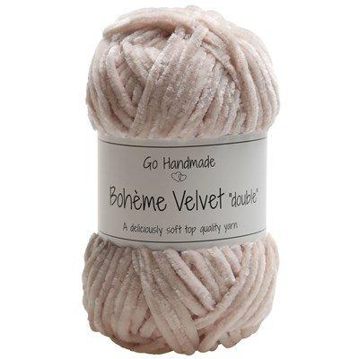 Go handmade Boheme Velvet Double 17629 Sand op=op