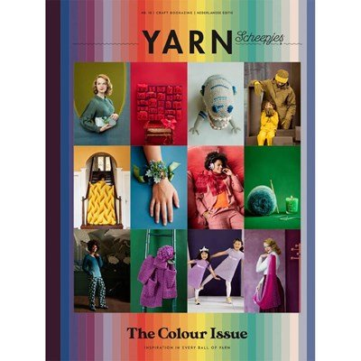 Scheepjes Yarn Bookazine 10 The colour issue