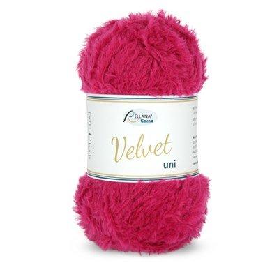 Rellana Garne Velvet uni 034 Pink op=op