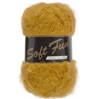 Lammy yarns - Soft fun 350 oker geel