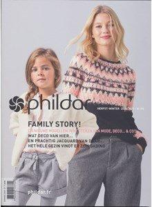 Phildar nr 195 Herfst Winter 2020 - 2021 Family Story