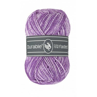 Durable Cosy fine Faded 0269 Light purple