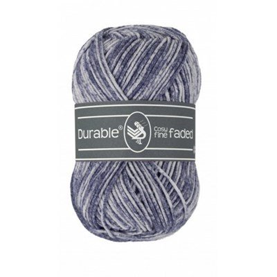 Durable Cosy fine Faded 0321 Navy