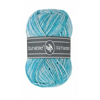Durable Cosy fine Faded 0371 Turquoise