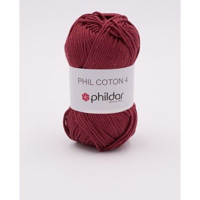 Phildar Phil Coton 4 Aubergine