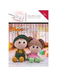 Patroonboekje Poppen Bram en Roos