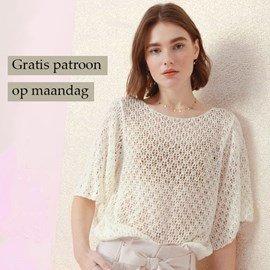 Gratis patroon - Breipatroon shirt
