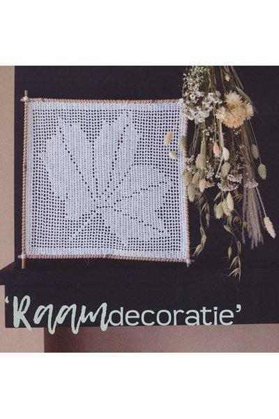 Haakpatroon Decoratie blad