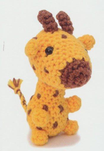 Haakpatroon Minimini Giraf
