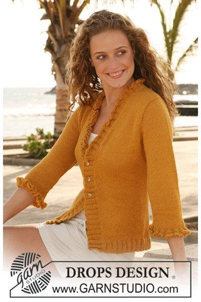 Breipatroon Vest in tricotsteek