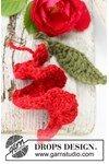 Haakpatroon Gehaakte roos van Nepal van andere kant