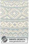 Breipatroon Gebreide trui met Noors patroon van andere kant